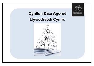 Tudalen flaen y Cynllun Data Agored