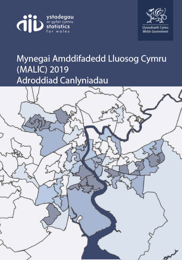 Mynegai Amddifadedd Lluosog Cymru – Clystyrau